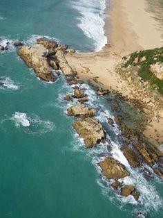 Playa de Atlanterra en Zahara, Andalucía