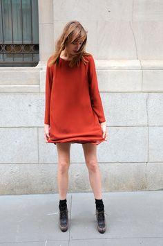 calivintage:  no.6 three layer chiffon dress by no.6 daily.