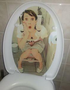 """La mia nuova """"personal toilet"""" #toilet #toilette #bagno #wc #personale #personal #custom"""
