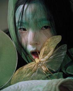 paintdeath: Xiao Wen Ju for W Magazine February 2012