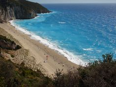 Mylos beach, Lefkada island ~ Greece