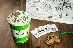 It's the most wonderful time of the year...to be enjoying this festive frozen treat from #ShakeShack! Choose your flavor: gingerbread, chocolate peppermint or Christmas cookie.