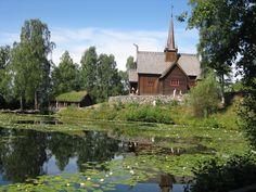 Église en bois debout Maihaugen