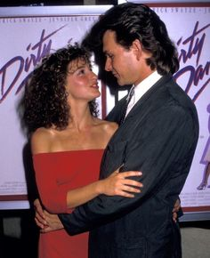 The Most Inspiring Movie-Couple Moments Ever Hollywood Actor, Hollywood Stars, Jennifer Grey, Couple Moments, The Wedding Singer, Dance Instructor, Inspirational Movies, Patrick Swayze, Tribal Belly Dance
