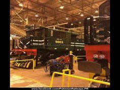 The 4000 HP General Electric Locomotive Of Pakistan Railways