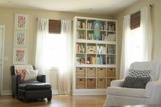 """""""built-in"""" bookshelves » The Macs"""