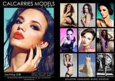 Model Comp Card example 33