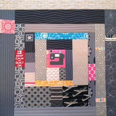 Yam bee block - Month O' Monica by Happy Zombie, via Flickr