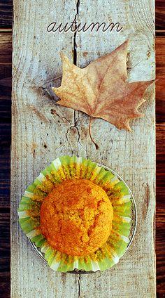 muffins de calabaza y almendra {otoño} pumpkin and almonds' muffins {autumn}