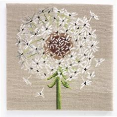 Cross Stitch | Canvas Dandelion Kit UK