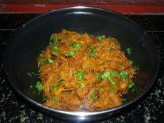 manjuz kitchen: Spicy Yam Curry
