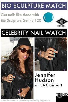 Get nails like Jennifer Hudson with Bio Sculpture Gel Bio Sculpture Nails, Celebrity Nails, Jennifer Hudson, Get Nails, Celebs, Celebrities, Watch, Clock, Celebrity