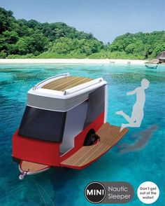 Floating Mobile Tents - The Nautic Sleeper Concept by Ruben Oya is Convenient (GALLERY)