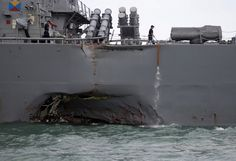 After Dangerous Collisions Navy Will Pause for Safety Check
