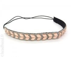 Headband chevrons cristaux