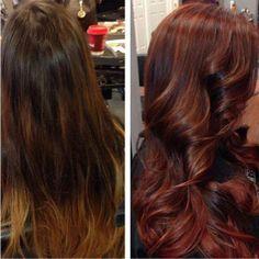 Nice hair color - Mission Aveda Salon
