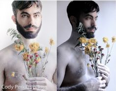 A beautiful shot by RAW photographer Cody Perkins! See what else he has to show you on June 5th at Los Globos! www.rawartists.org/cperkinsphotography #codyperkins #malemodel #beard #flowers #prophotographer #laphotography #mustache #beauty #rawartists #rawartistsla #handsome