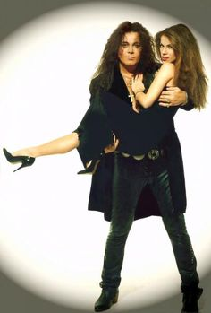 Yngwie and April Malmsteen