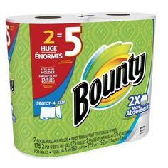 Bounty Select-A-Size Paper Towels Huge Rolls White 12 Count Cleaning Household  #Bounty