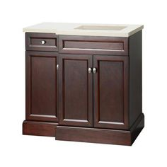 Foremost International - Teagen 36 Inch  Vanity Combo With Left Drawer - TENA3622LD - Home Depot Canada 769