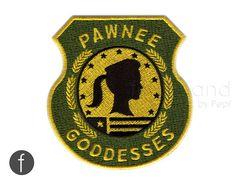 Pawnee Goddesses Badge Iron On Patch by FerdinandWorks on Etsy