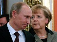 According to German Chancellor Angela Merkel, Russian President Vladimir Putin said he will move some troops away from Ukraine's border. The West has been pressuring Putin to do this for almost a month.