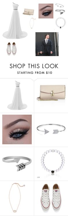 """""""Cubs charity event"""" by cmsvball19 on Polyvore featuring Dolce&Gabbana, Bling Jewelry, Jewel Exclusive, Kendra Scott and Converse"""