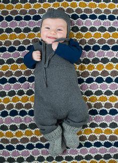 1313: Modell 7 (bukse og lue) #strikk