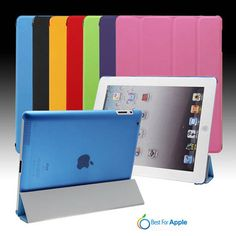 iPad 4/3/2 Smart Cover with clear back case