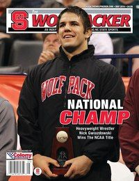 The May issue of The Wolfpacker is now available for subscribers and WPC members at http://thewolfpackeronline.com!  NC State signed a heralded class in basketball, and we have the breakdown on three already in the fold plus what's ahead on the hoops recruiting trail. We also feature NC State's newest national champion, heavyweight wrestler Nick Gwiazdowski.