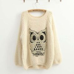 I just got a sweater like this! except mine's gray;)