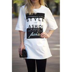 Love Fashion Graphic Tunic