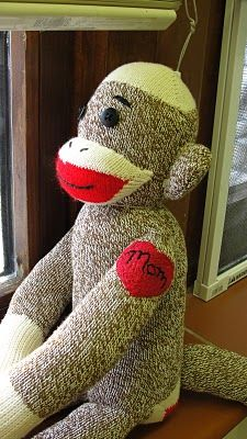 Sock Monkey with a tattoo!