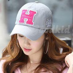 H cap spring summer influx cap visor Korean version of a millinery baseball cap  hat men and women 33667ce152b