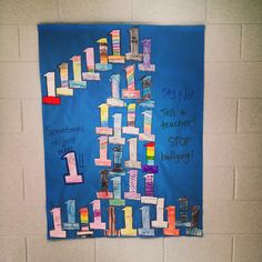 book One by Kathryn Otoshi, #noplaceforhate, power of bystander, peace week, classroom guidance