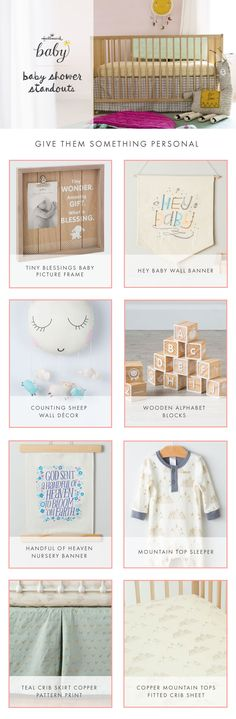 The perfect and personal baby shower gifts that will sure to be a standout present! Shop personalized baby gifts and baby shower gifts exclusively at Hallmark Baby!