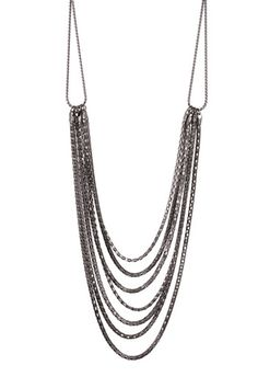 Bib Chain Link Necklace