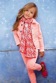 Blog moda infantil: Un mundo lleno de COLOR.....LOSAN KDS