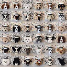 Mug Cozy Pattern Dog Crochet Pattern Crochet Dog Pattern
