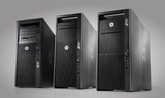 HP Z Workstations - BMW design inspired supercomputers evoke images of high performance, reliability, and innovation.