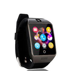 2016 neue NFC Smart Uhr Q18S Arc Uhr Mit Sim TF karte Bluetooth-verbindung für iphone Android Telefon Smartwatch PK GV18 APRO //Price: $US $24.00 & FREE Shipping //     #meinesmartuhrende
