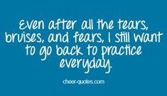 Cheer Quotes- Not only for cheerleading but for most other sports Cheer Qoutes, Cheerleading Quotes, Gymnastics Quotes, Cheerleading Gifts, Volleyball Quotes, Baseball Quotes, Soccer Quotes, Sport Quotes, Cheer Sayings