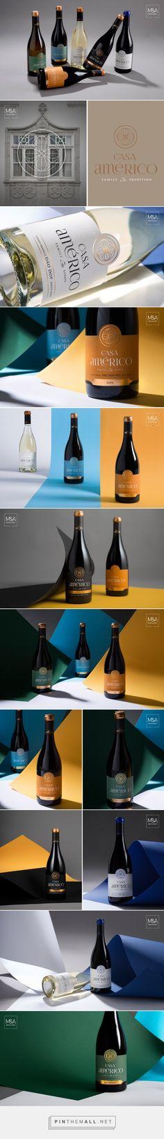Casa Américo Wine - Packaging of the World - Creative Package Design Gallery - http://www.packagingoftheworld.com/2017/01/casa-americo.html