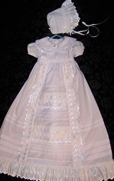 Victorian Inspired Christening Gown