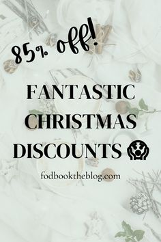Christmas Discounts 😱 (Up to 85% off!)