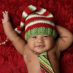 This little one is full of holiday cheer! Cute photo by Babies R Us, Cute Babies, Baby Pictures, Baby Photos, Cute Photos, Beautiful Children, Baby Accessories, Baby Fever, Little Ones