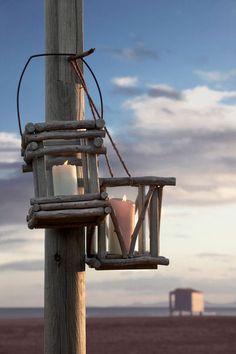 Driftwood Lanterns