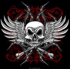 Skull+and+Cross+Bones+by+Oblivion-design.deviantart.com+on+@deviantART
