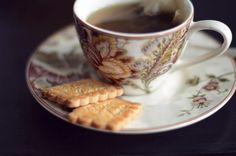 tea + biscuits