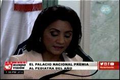 La Primera Dama De La República Cándida Montilla De Medina, Entregó Este Viernes El Premio Nacional De Pediatría 2016